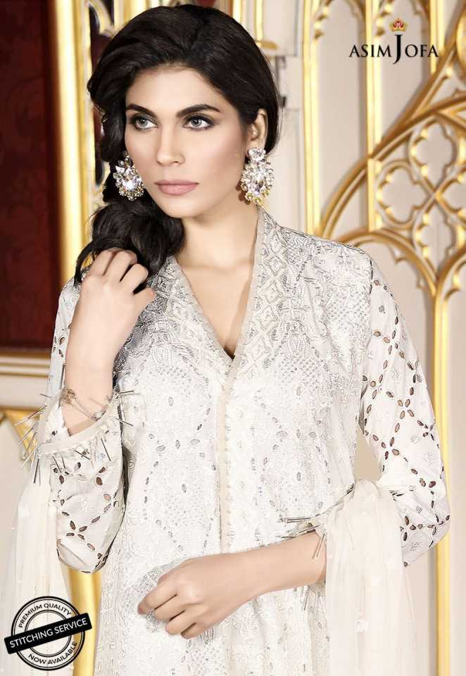 Asim Jofa Luxury Lawn Collection 2018