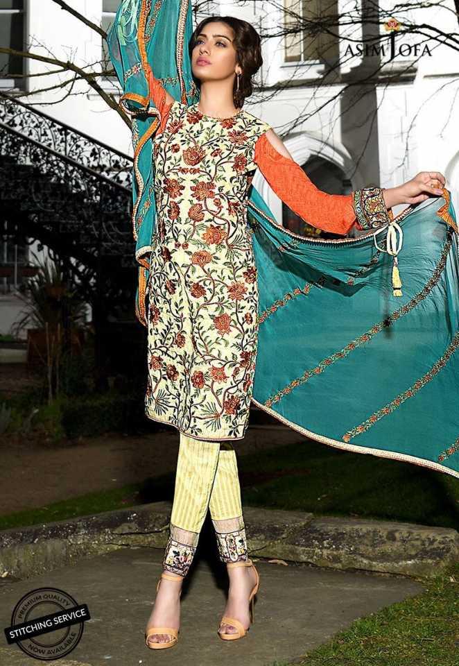 Asim Jofa Luxury Lawn Collection 2018
