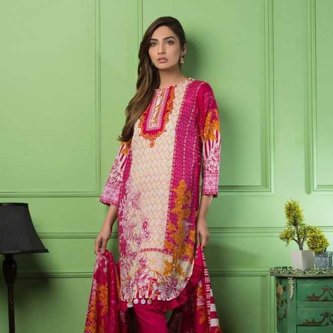 Bashir Ahmad Textiles Gorgeous Floral Collection 2018 Bashir Ahmad Textiles Gorgeous Floral Collection 2018