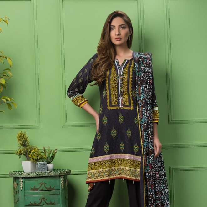 Bashir Ahmad Textiles Gorgeous Floral Collection 2018