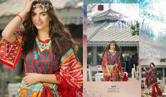 Edenrobe Summer Lawn 2018 Unstitched Collection