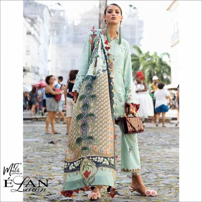 Elan Lawn Collection 2018 Spring Summer With Prices