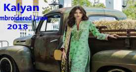 Kalyan Exclusive Embroidered Lawn