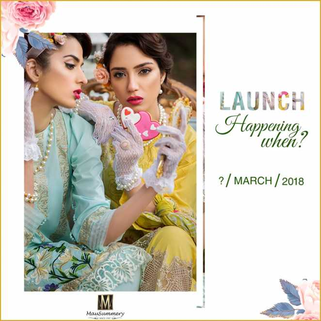 Mausummery Lawn Collection Spring Summer 2018 Vol Mausummery Lawn Collection Spring Summer 2018 Vol