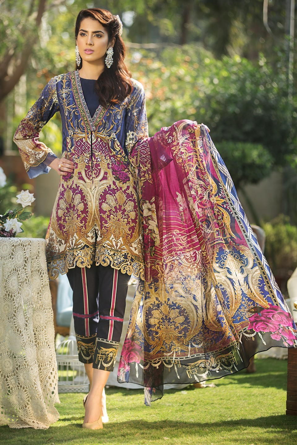Mausummery Lawn Collection Spring Summer 2018 Vol (29 ...