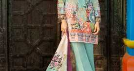Pareesa Lawn Summer Collection 2018 By CenOne (9)