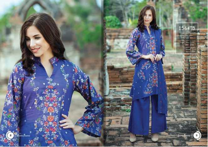 Taana Baana 2018 Summer Range Premium Embroidered Fabric