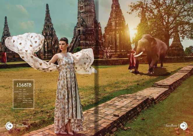 Taana Baana 2018 Summer Range Premium Embroidered Fabric