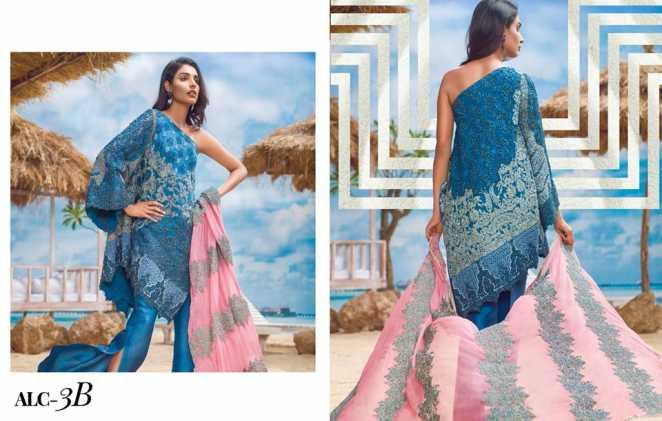 Luxury Chiffon Collection by Asim Jofa 2018 For Eid