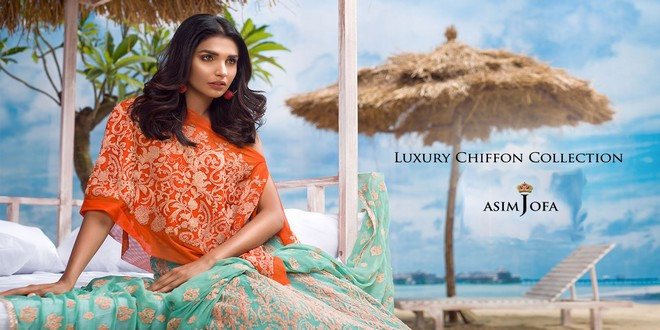 Luxury Chiffon Collection by Asim Jofa