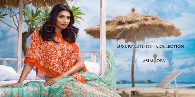 Luxury Chiffon Collection by Asim Jofa