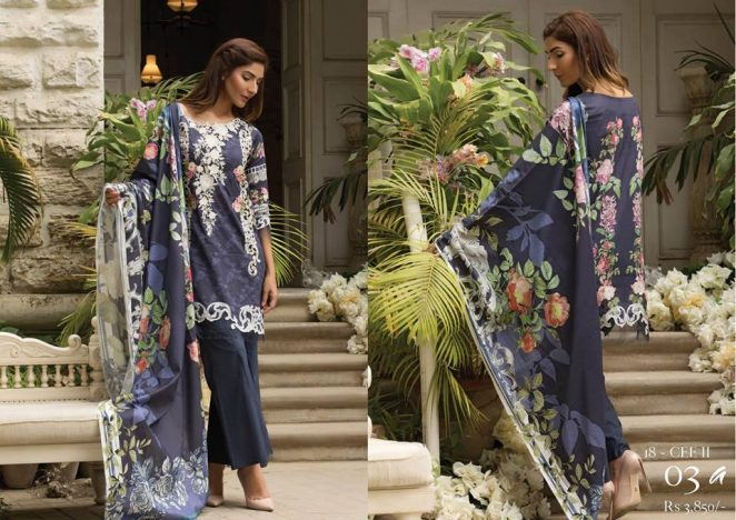 Firdous Cloth Tropical Collection 2018-19 New Arrival