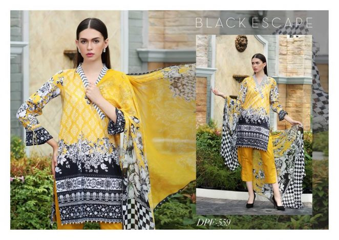 So Kamal Fall Collection 3 Piece Dresses 2018-19