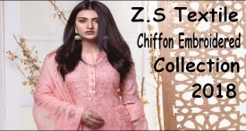 Z.S Textile Chiffon Embroidered Collection