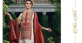 Pashmina Twill Shawal Collection By House Of Chrizma 2018-19 (10)