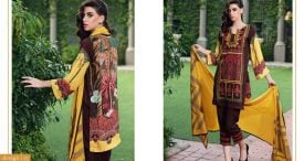 Pashmina Twill Shawal Collection By House Of Chrizma 2018-19 (11)