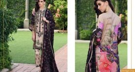 Pashmina Twill Shawal Collection By House Of Chrizma 2018-19 (12)