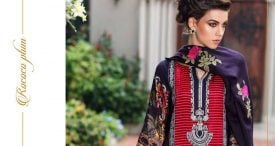 Pashmina Twill Shawal Collection By House Of Chrizma 2018-19 (15)