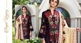 Pashmina Twill Shawal Collection By House Of Chrizma 2018-19 (16)