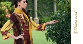 Pashmina Twill Shawal Collection By House Of Chrizma 2018-19 (17)