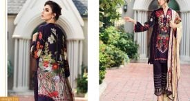 Pashmina Twill Shawal Collection By House Of Chrizma 2018-19 (19)