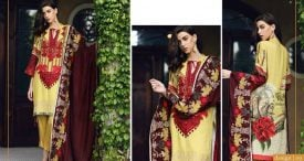 Pashmina Twill Shawal Collection By House Of Chrizma 2018-19 (20)