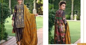 Pashmina Twill Shawal Collection By House Of Chrizma 2018-19 (24)