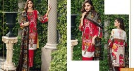 Pashmina Twill Shawal Collection By House Of Chrizma 2018-19 (3)