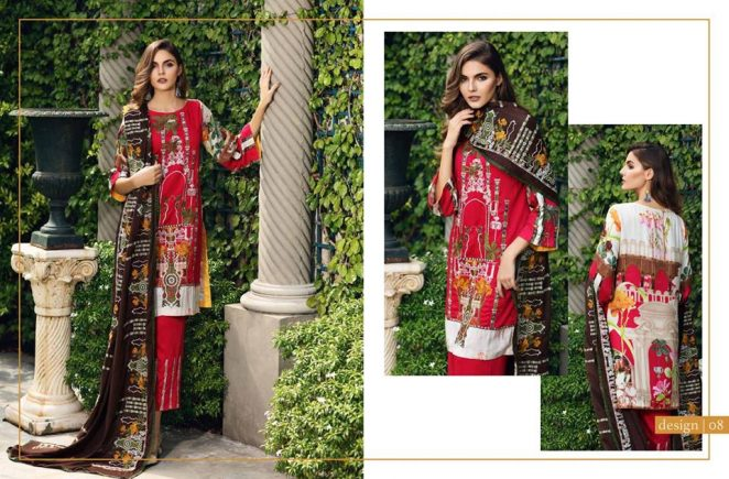Pashmina Twill Shawal Collection By House Of Chrizma 2018-19