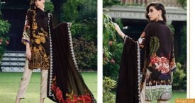 Pashmina Twill Shawal Collection By House Of Chrizma 2018-19 (9)